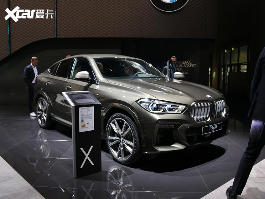 新一代宝马X6广州车展上市 搭两种动力