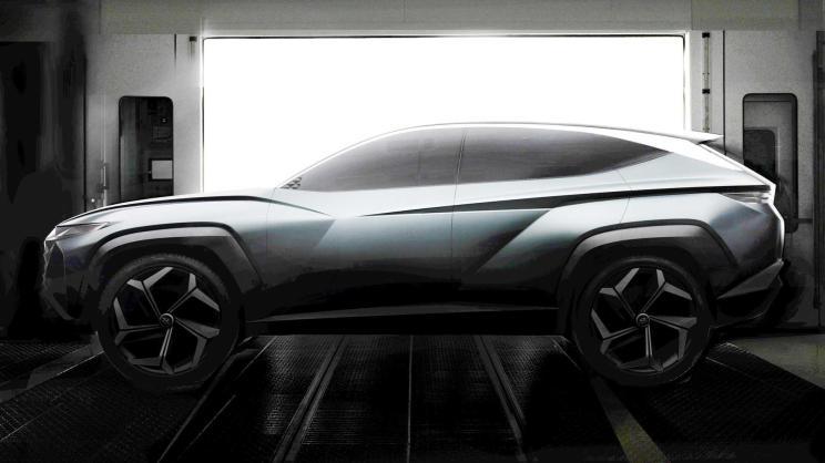 现代全新SUV概念车