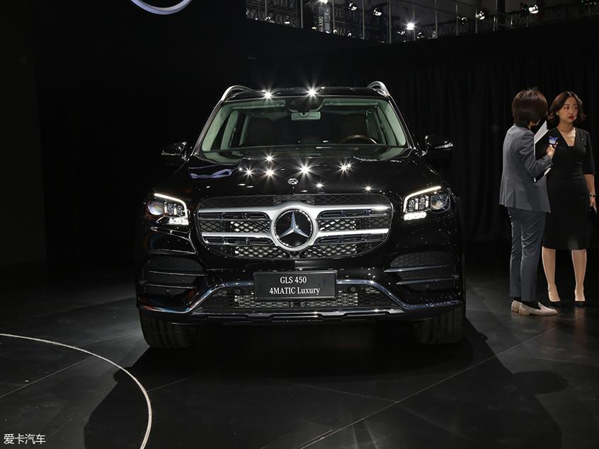 新一代奔驰GLS于广州车展上市 内外革新