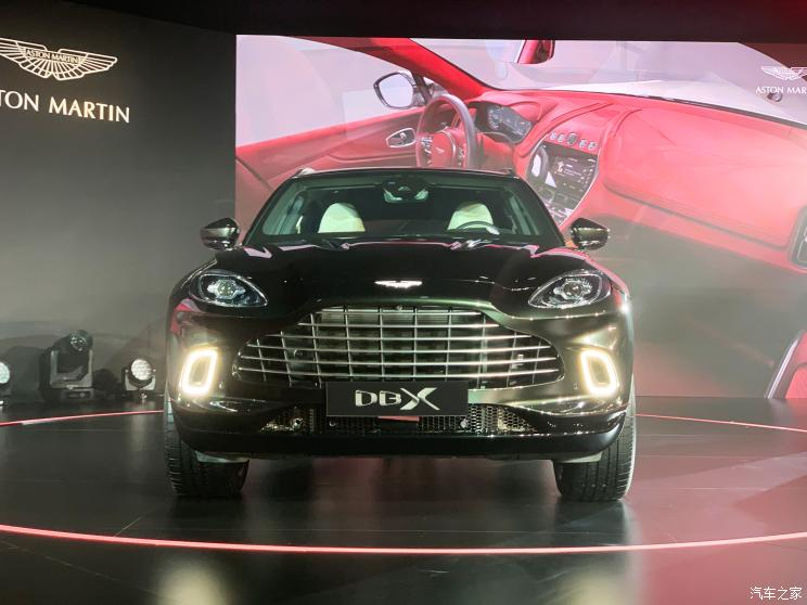 品牌首款SUV 阿斯顿·马丁DBX全球首发