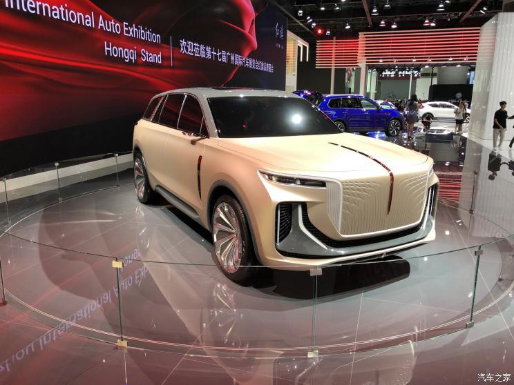 2019廣州車展:紅旗E115概念車首發