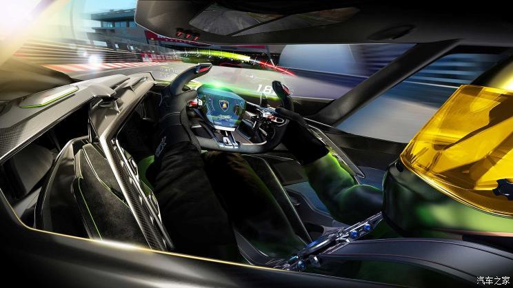 兰博基尼v12 vision gran turismo概念车
