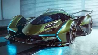 兰博基尼全新V12 Vision Gran Turismo概念车首发 专为游戏设计