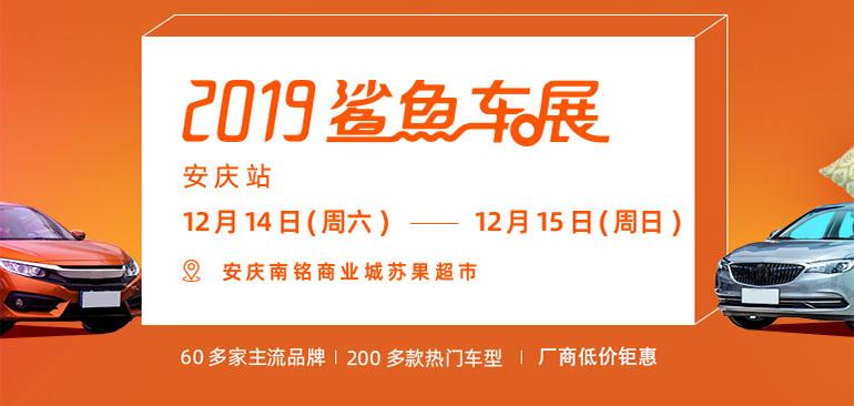 2019易车鲨鱼车展安庆站