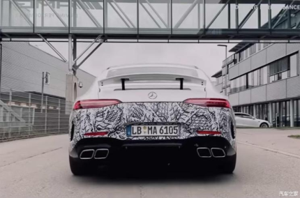AMG GT 73預告圖曝光 或日內瓦車展亮相