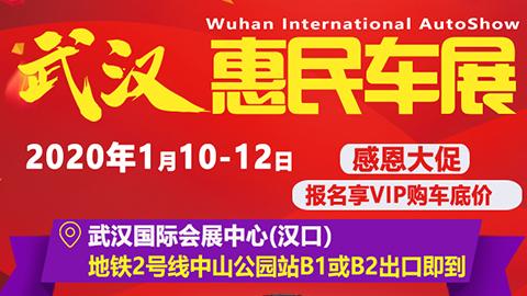 2020武汉惠民车展(1月)