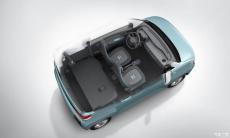 五菱新纯电动微型车内饰官图发布