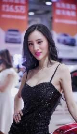 2020湖南汽车展览会美女如云