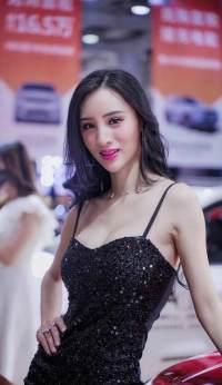 2020湖南汽車展覽會美女如云