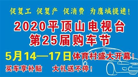 2020平顶山电视台第25届购车节