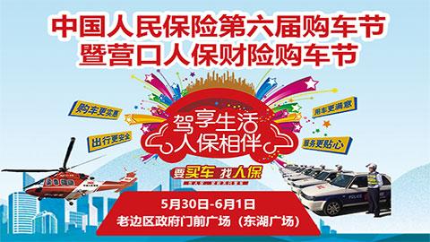 2020中国人保第六届购车节暨营口人保财险购车节