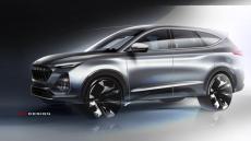 江淮嘉悦X8设计图发布 定位中大型SUV