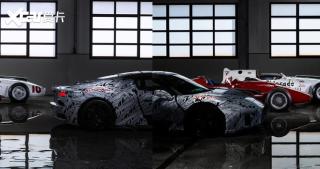 玛莎拉蒂MC20原型车谍照 将9月正式亮相