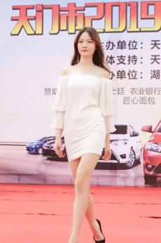 2019天門春季車展車模實拍