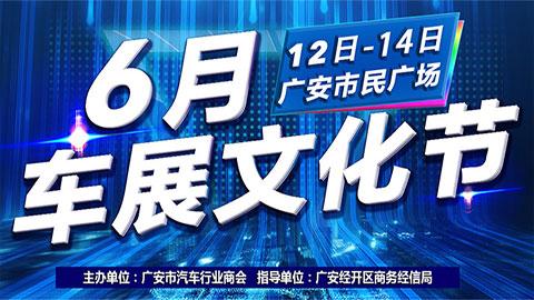 2020广安市六月车展文化节