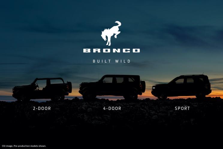福特Bronco