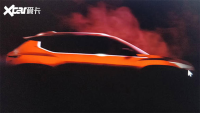 日产B-SUV概念车预告图 将7月16日首发