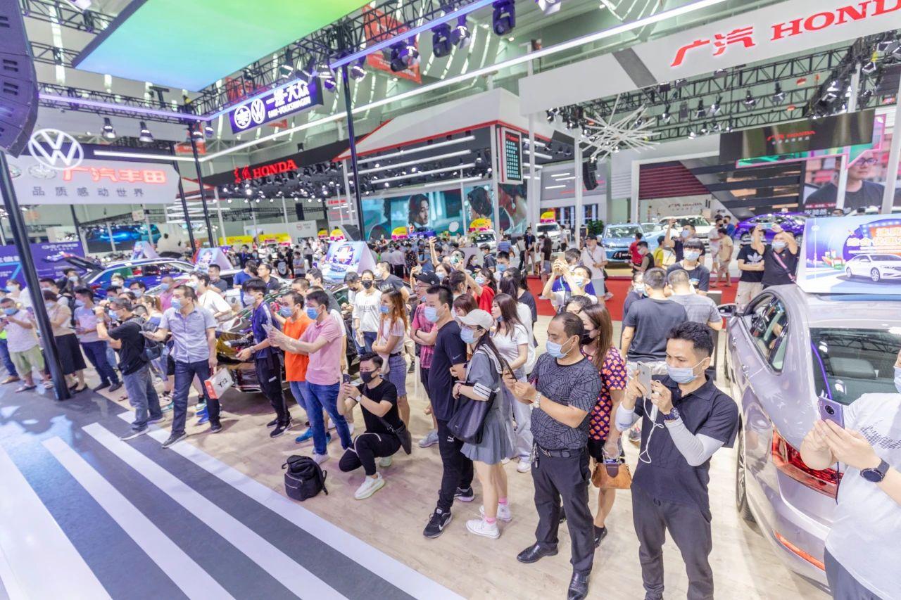2020佛山汽车工业博览会开展,50个汽车品牌参展