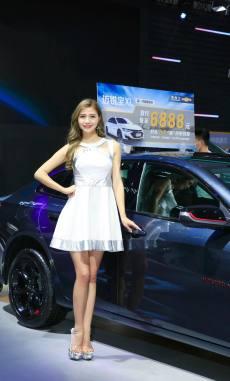 2020贵阳国际车展开幕 来一睹车模的风采
