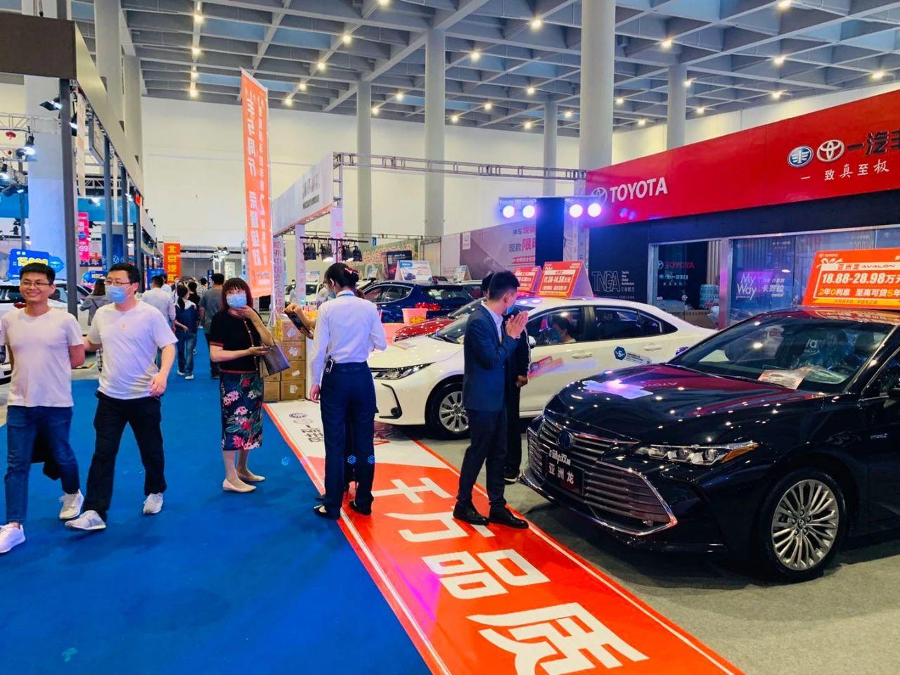 2020日照国际车展12日开幕 现场精彩实拍