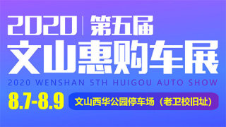 2020第五届文山惠购车展