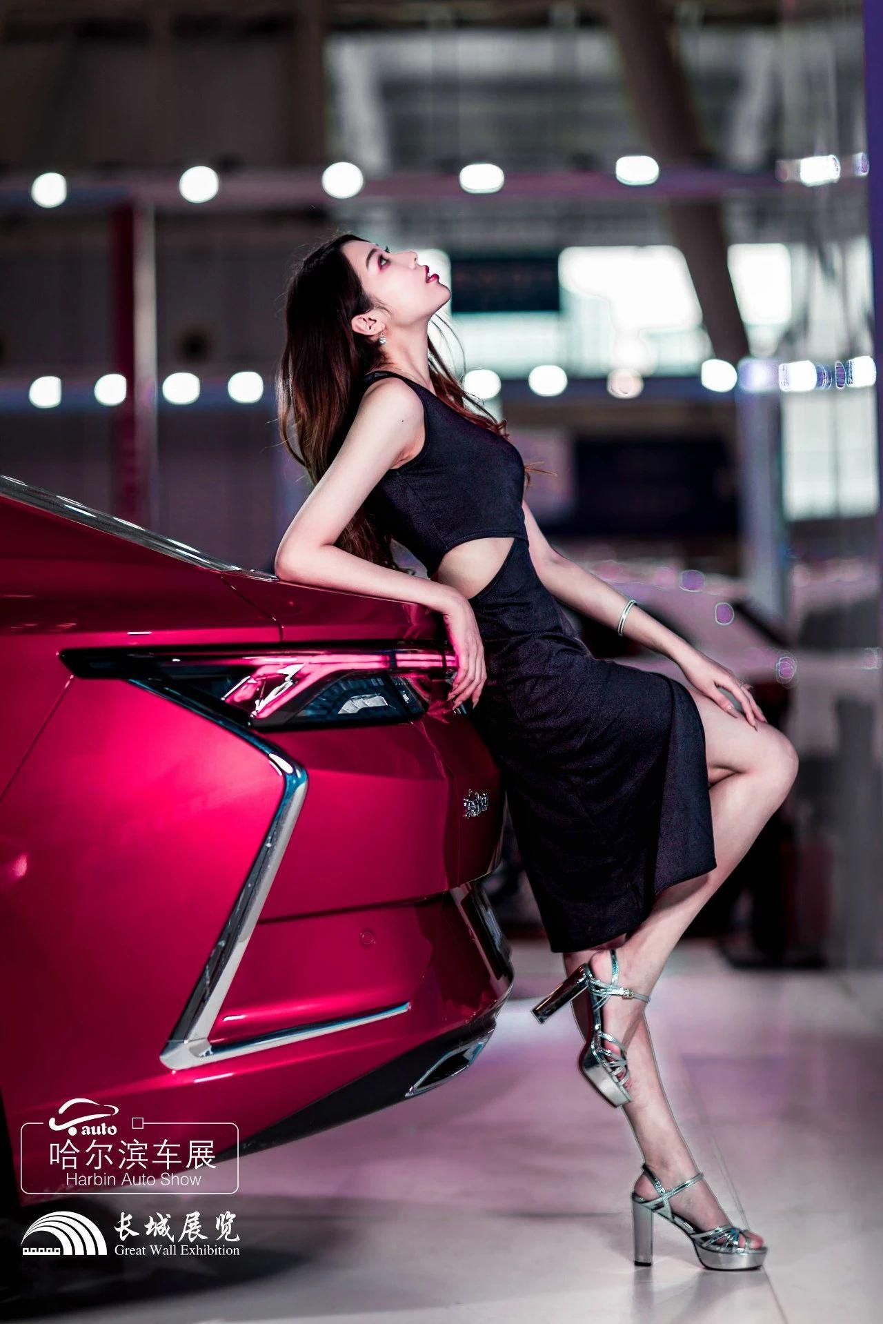 哈尔滨国际车展拍摄活动