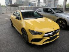 2020成都国际车展探馆:AMG CLA 35实车