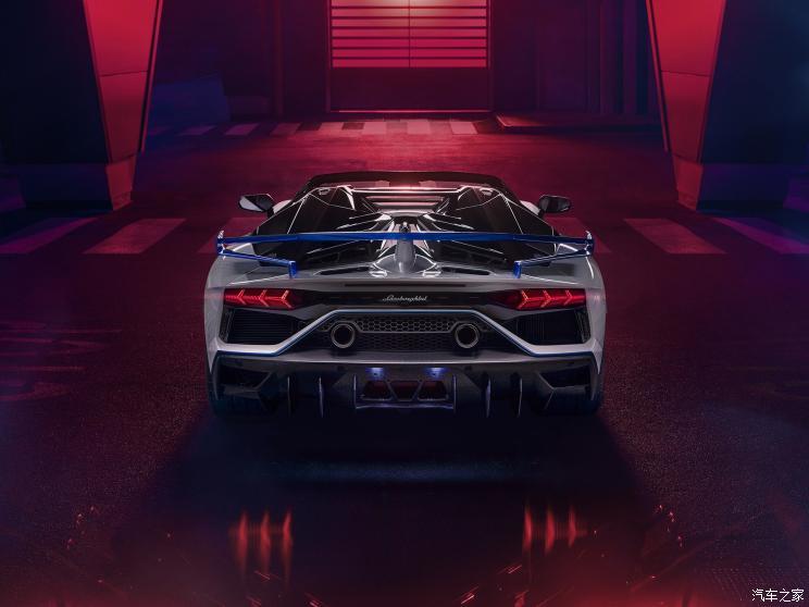 兰博基尼Aventador SVJ特别版