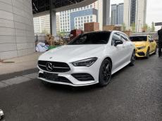 2020成都国际车展探馆:奔驰CLA五门猎跑车