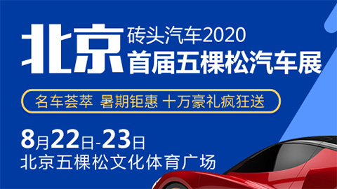 2020首届北京五棵松汽车展