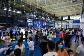 2020南京國際車博會盛大開幕 后疫情時代金陵首場大車展