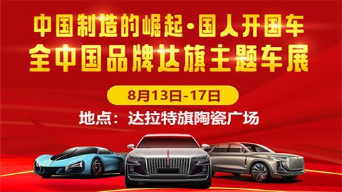 2020达拉特旗国产车品牌主题车展
