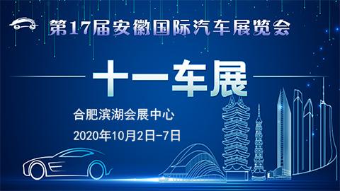2020第17屆安徽國際汽車展覽會十一車展