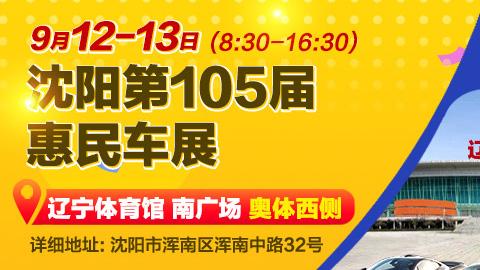 2020沈阳第105届惠民车展