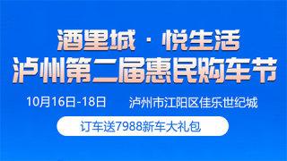 2020酒城里•悅生活 泸州第二届惠民购车节