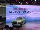 2020北京车展:红旗E-HS9预售55.00万起