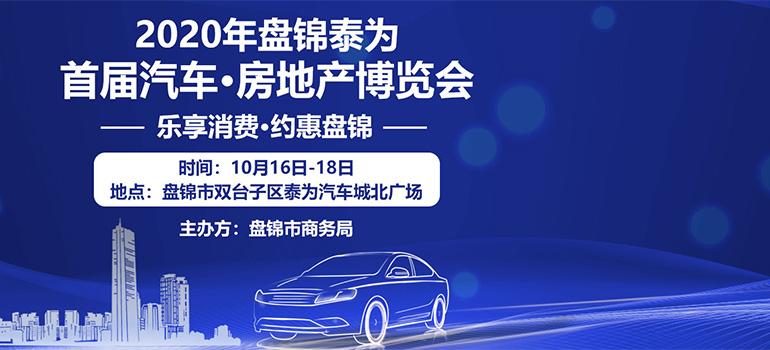 2020盘锦泰为首届汽车·房地产博览会