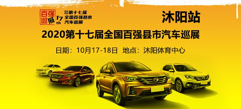 2020(第十七届)全国百强县市汽车巡展沭阳站