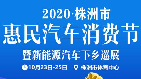 2020株洲市惠民汽車消費節暨新能源汽車下鄉巡展