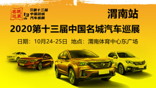 2020(第十三届)中国名城汽车巡展渭南站