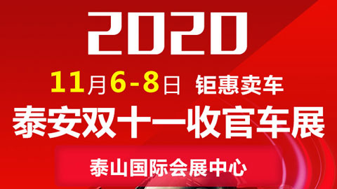2020泰安双十一收官车展