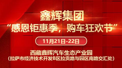 """2020西藏鑫辉集团""""感恩钜惠季,购车狂欢节"""""""