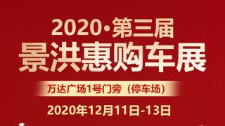 2020景洪第三届惠购车展