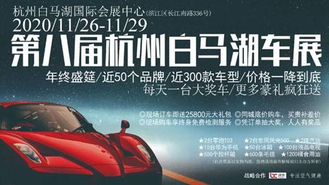 2020第八届杭州白马湖车展