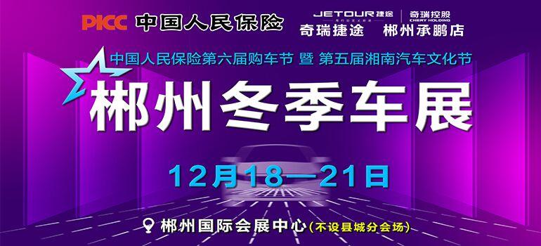 2020郴州冬季车展