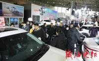 威海冬季车展第二天,人气销量迎高峰,你买到车了吗?