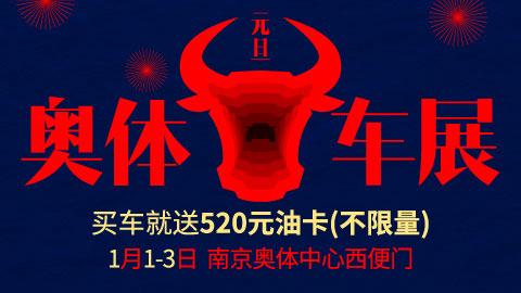 2021第108届麦车网元旦(南京)奥体车展