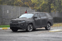Jeep全新7座SUV谍照曝光 基于Compass打造