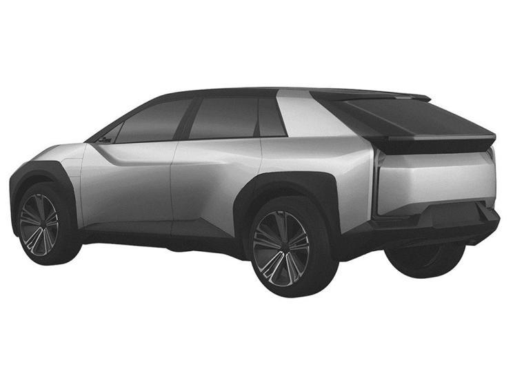 丰田纯电动SUV