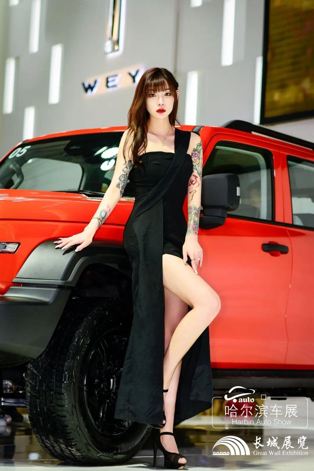 哈尔滨春季车展模特拍摄活动